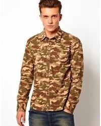 Dansk Shirt With Camo Print