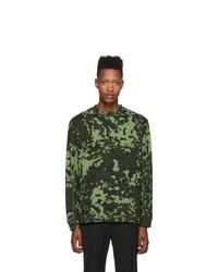 Nike Green Mmw Edition Nrg Aop Long Sleeve T Shirt