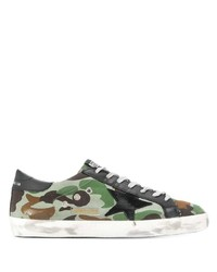 Golden Goose Superstar Camouflage Sneakers