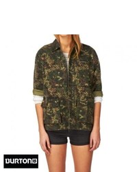 Burton harvey jacket camo medium 127596