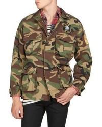 Saint Laurent Camo Cotton Jacket