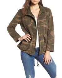 BLANKNYC Camo Print Army Jacket