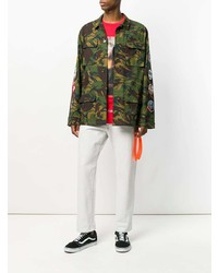 Off-White Camouflage Arrows Jacket