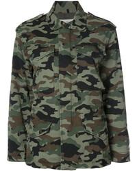 Camouflage cargo jacket medium 6744521