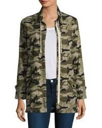 Monrow Camouflage Cotton Jacket
