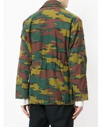 Icons Camouflage Military Jacket