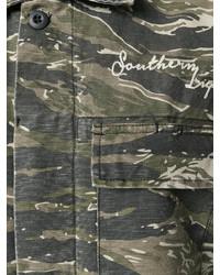 Current/Elliott Camouflage Patch Jacket