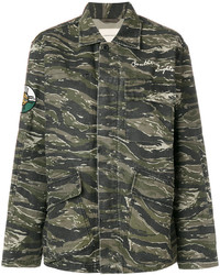 Camouflage patch jacket medium 6744522