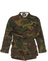 Nlst Camouflage Print Field Jacket
