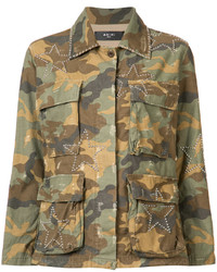 Camouflage print jacket medium 6744544