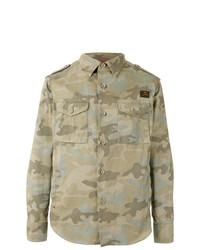 Camouflage print jacket medium 7162688
