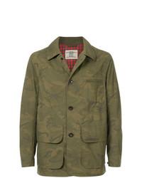 Kent & Curwen Camouflage Print Jacket