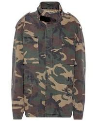 Yeezy Camouflage Printed Jacket