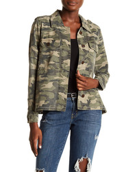 Lucky Brand Camouflage Shirt Jacket