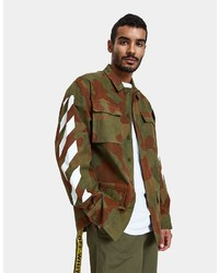 Off-White Diag Camouflage Field Jacket