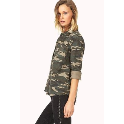89c3822944f0d Forever 21 Desert Cutie Camo Shirt Jacket, $27   Forever 21 ...