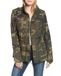 Alpha Industries M 65 Defender Camo Field Jacket