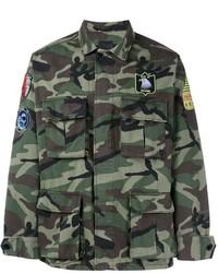 Saint Laurent Camouflage Jacket