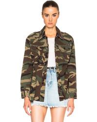 Saint Laurent Short Studded Jacket