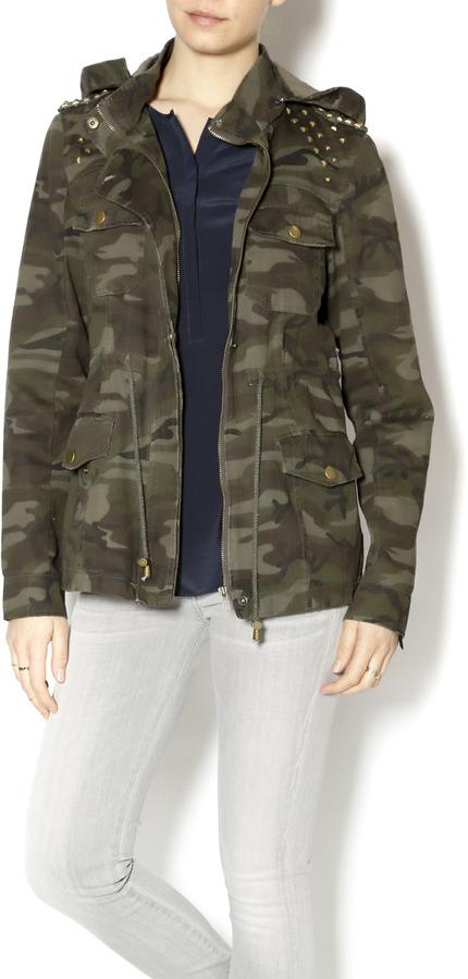 Zenana Outfitters Camo Jacket Wstud | Where to buy u0026 how to wear