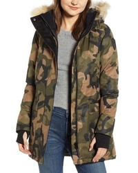 NOBIS Carla Hooded Down Parka With Genuine Coyote