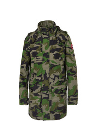 Canada Goose Crew Camouflage Print Shell Jacket