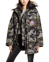 Canada Goose Expedition Extreme Weather Fusion Fit 625 Fill Power Down Parka With Genuine Coyote