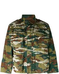 MHI Maharishi Short Camouflage Parka