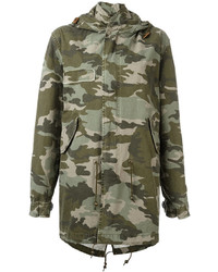 Mr Mrs Italy Camouflage Print Parka