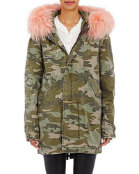 Mr Mrs Italy Fur Trimmed  Lined Parka