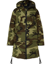 Canada Goose Olympia Camouflage Print Shell Down Parka