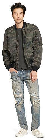 f5a8548750da7 Denim & Supply Ralph Lauren Ralph Lauren Denim Supply Slim Camo Down Bomber  Jacket, $198 | Ralph Lauren | Lookastic.com