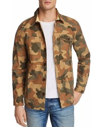 Barbour Camouflage Button Up Shirt Jacket
