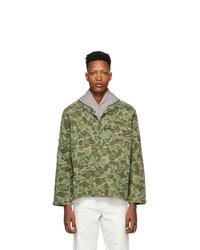 Polo Ralph Lauren Green Camo Jacket