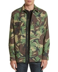 rag & bone Heath Camo Shirt Jacket