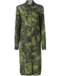 Marios camouflage shirt dress medium 759364