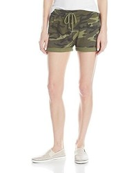 Alternative Camo Print Light French Terry Shorts