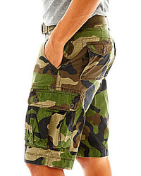 6bb1d8b4a6 Arizona Belted Ripstop Cargo Shorts, $42 | jcpenney | Lookastic.com