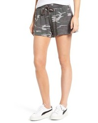 Pam & Gela Camo Knit Shorts