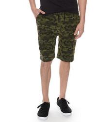 Camo terry drawstring shorts medium 3648548