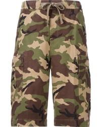Monkey Time Camouflage Cargo Shorts