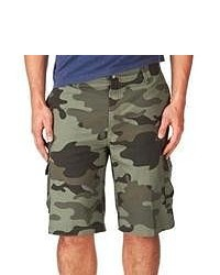 Oakley Discover Cargo Shorts Olive Camo