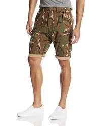 French Connection Painted Camouflage Short