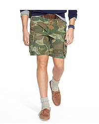 Polo Ralph Lauren Relaxed Fit Embroidered Camouflage Shorts
