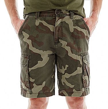 df7464cadd92a jcpenney St Johns Bay Camo Cargo Shorts, $16   jcpenney   Lookastic.com