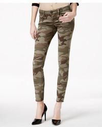 True Religion Casey Camo Print Skinny Jeans