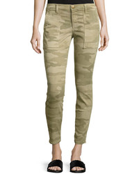 The station agent camo cropped skinny jeans medium 3733617
