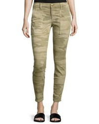 The station agent camo cropped skinny jeans medium 3741544