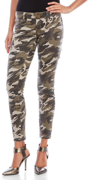Cargo skinny jeans