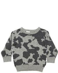 Kardashian Kids Baby Boys Camo Print Sweater